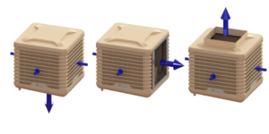WetBox, CoolBox, EcoCooling evaporative cooler,