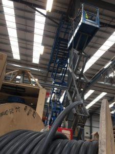 Herman Miller space cooling evaporative cooling installation industrial cooling