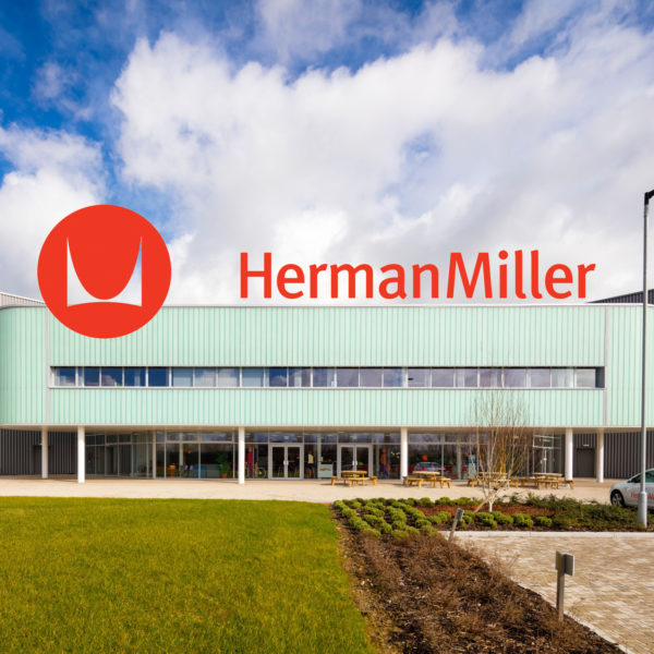 Herman Miller space cooling evaporative cooling installation