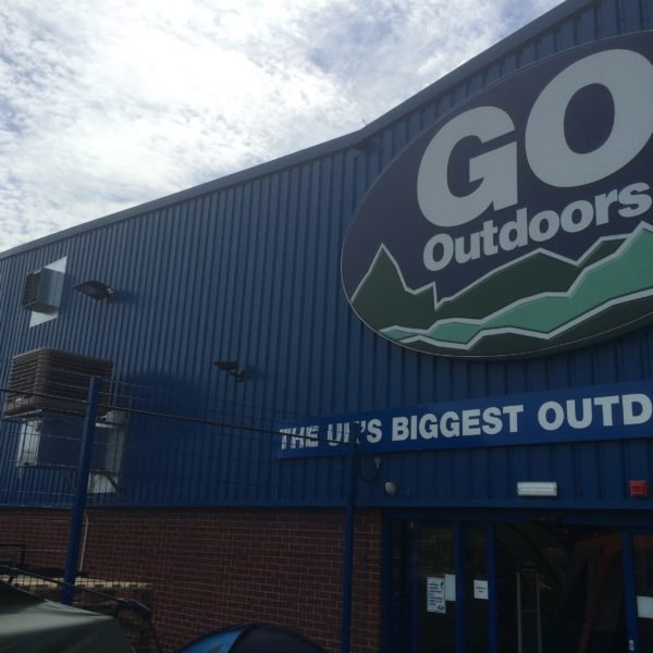 Go Outdoors retail store with EcoCooling cooler