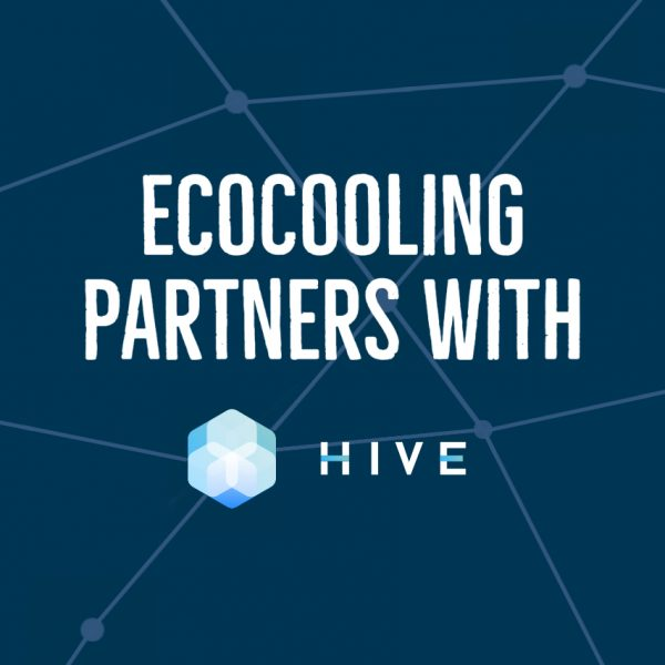 HIVE Blockchain partners with EcoCooling to create the most efficient High Performance Computing facility in the world