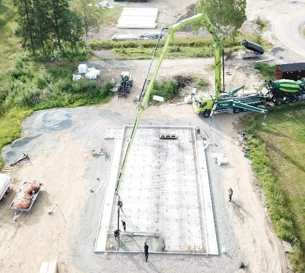 Boden data centre construction