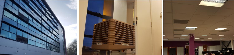 EcoCooling solves office cooling challenge – Scotland