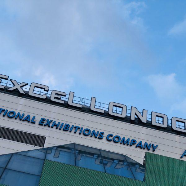Excel London signage EcoCooling